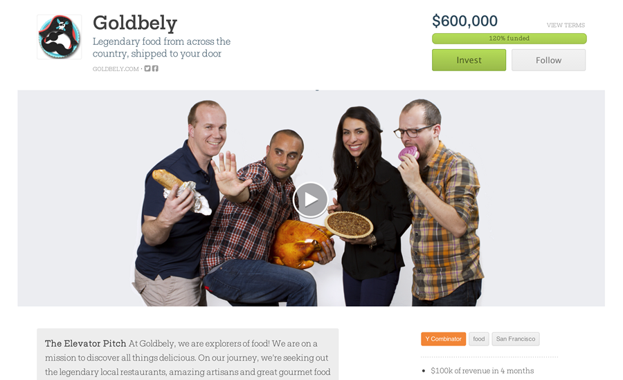 wefunder.com crowdfunding